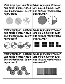 Improper Fractions and Mixed Numbers