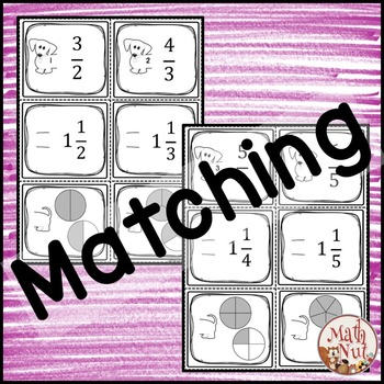 Improper Fractions and Mixed Numbers Activity