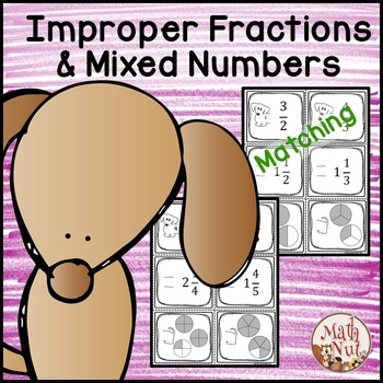 "Fractions ""Improper Fractions and Mixed Numbers Activity"""