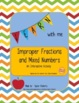 Improper Fractions and Mixed Numbers - An Interactive Activity