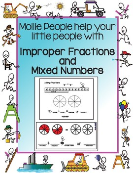 Improper Fractions and Mixed Numbers:  How We Get 'Em and How We Change 'Em!