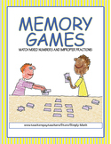 Improper Fractions and Mixed Numbers Memory Games