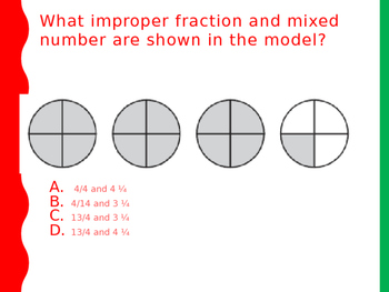 Improper Fractions and Mixed Numbers Review Day