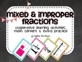 Improper & Mixed Fractions, Cooperative Learning Activities