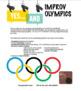 Drama -Improv - Improv Olympics!