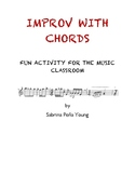 Improv With Chords Music Activity Lesson Plan - Music Theory