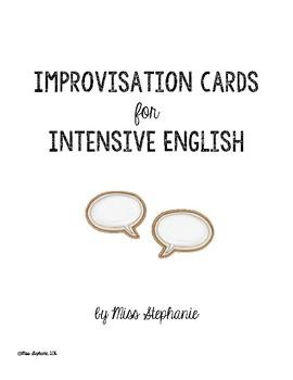 Improv cards