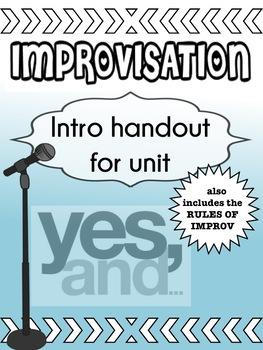 Drama - Improv handout