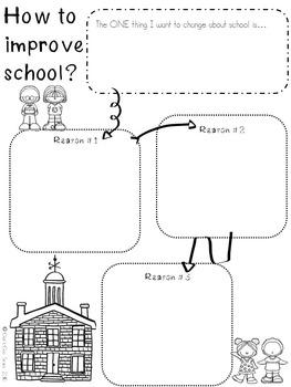 Persuasive Writing: Improve My School Unit