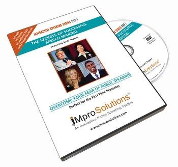 Improve Speaking Skills: Public Speaking Training 24-Page Workbook & DVD