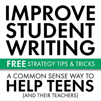 Improve Student Writing, FREE Strategy & Prompts to Sharpe