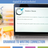 Improve Student Writing Worksheets: Apply Grammatical Concepts