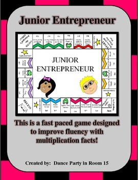 Improve Students' Multiplication Facts Fluency with this Board Game