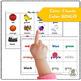 Kindergarten Color Matching Printable Activities (SASSOON)