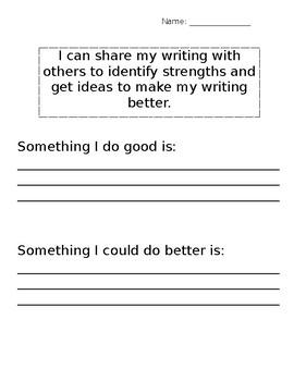 Improve Writing Reflection
