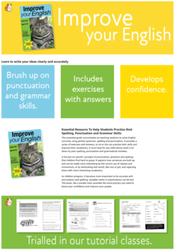 Improve Your English (Teach Your Child Good Grammar And Punctuation) 9-14 years