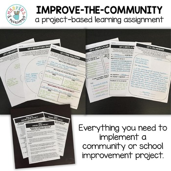 """Inquiry-Based Project (Project-Based Learning) """"Improve-the-Community/School"""""""