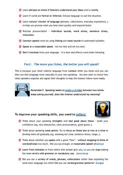 Improve your Speaking - Bundle