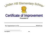 Improvement in Testing Certificate