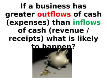 Improving Cash Flow Forecasts - Improving Finance - PPT & Worksheets