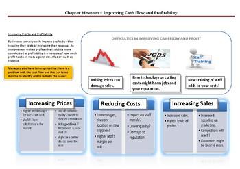 Improving Cash Flow and Profit