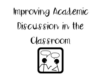Improving Discussion in the Classroom