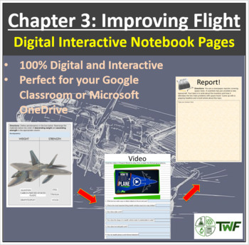 Improving Flight - Digital Interactive Notebook Pages