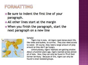 Paragraph Basics