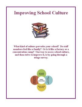 Improving School Culture