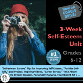 Self-Esteem Lessons: 16 Lessons are in this #1 Best-Selling Self-Esteem Unit!