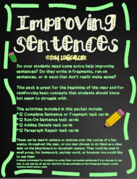 Improving Sentences
