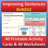 Improving Sentences Writing Activities BUNDLE