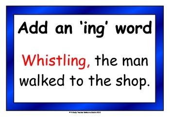 Improving Sentences Display Pack