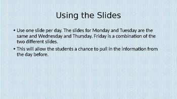 Improving Student Memory