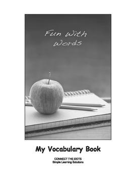 Improving Vocabulary The My Vocabulary Book