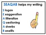Improving Writing Advertisements using SEAQAB