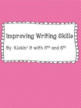 Improving Writing Checklist