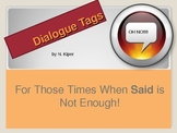 Improving Writing With the Use of Dialogue Tags
