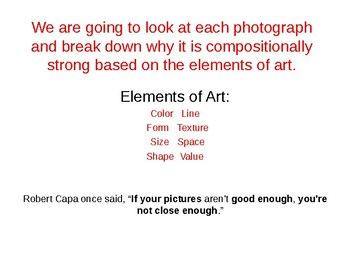 Improving Your Photography Skill Using Elements of Art
