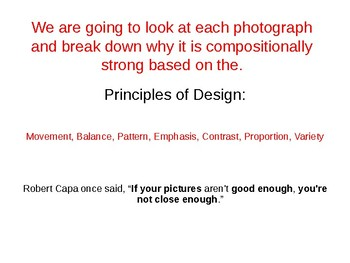 Improving Your Photography Skill Using the Principles of Design