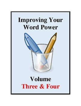Improving Your Word Power Volume Three & Four, Vocabulary Development Activities