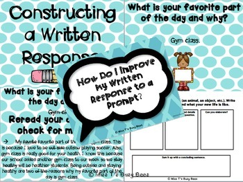 Improving a Written Response