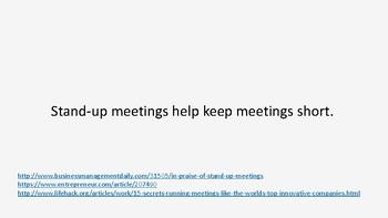 Improve meetings
