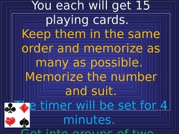 Improving your Students / Child's Memory - Tips and Games