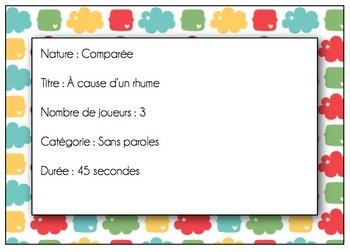 Improvisation - 100 scénarios