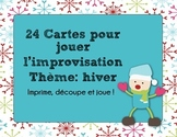 Improvisation - 24 scénarios d'hiver