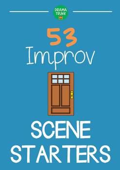 Improvisation Scene Starters (Improvisation Scenarios) with Improv Games