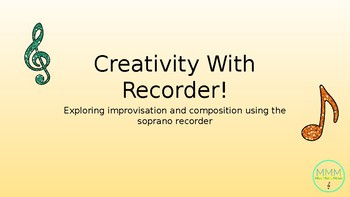 Improvisation and Composition With Redcorder
