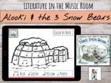 "Improvising Sound Effects with Jan Brett's ""Three Snow Bears"""