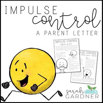 Impulse Control Parent Letter